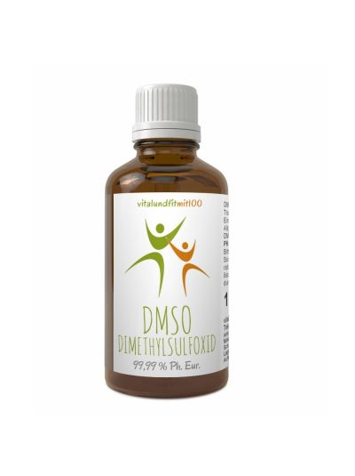 Vitalundfitmit100 DMSO Dimethylsulfoxid 99,9 % (Ph. Eur.) in Braunglas 100 ml