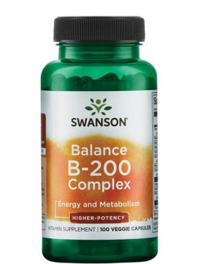 Swanson B 200 Komplex 100 Kapseln