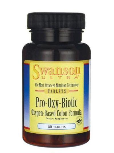 Swanson Oxy Biotic mit Probiotika und Präbiotika 60 Tabletten