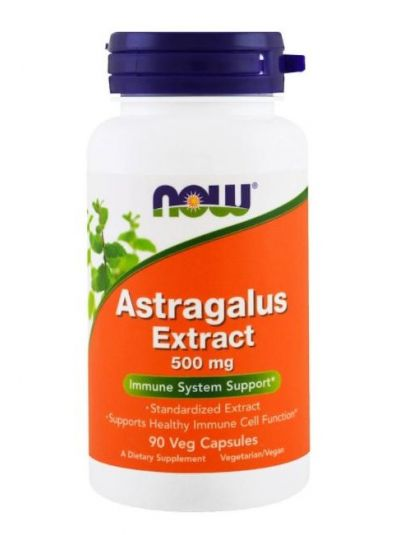 Now Foods, Astragalus-Extrakt, 500 mg, 90 vegetarische Kapseln