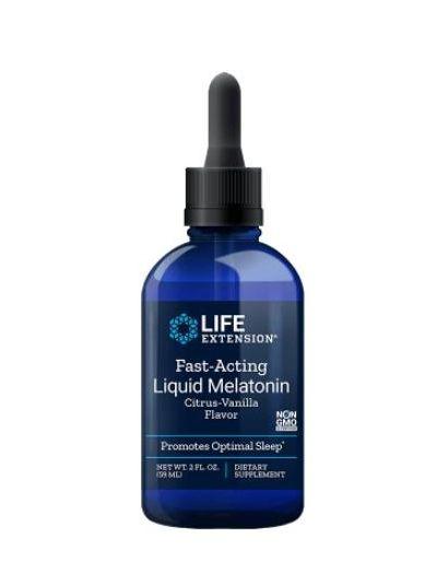 Life Extension SCHNELL WIRKENDES FLÜSSIGES MELATONIN 59 ml