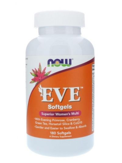 NOW FOODS EVE ERSTKLASSICHES FRAUEN MULTI 180 softgels