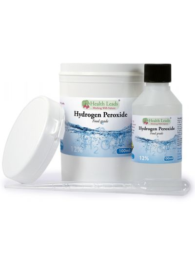 Health Leads Wasserstoffperoxid H2O2 12% Lösung 100-500 ml