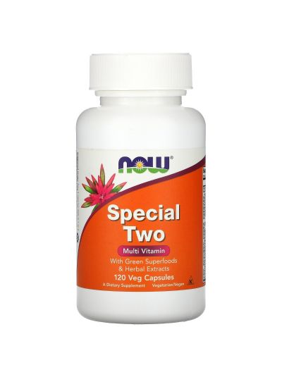 NOW FOODS SPECIAL TWO MULTI VITAMIN 120 VEGE KAPSELN