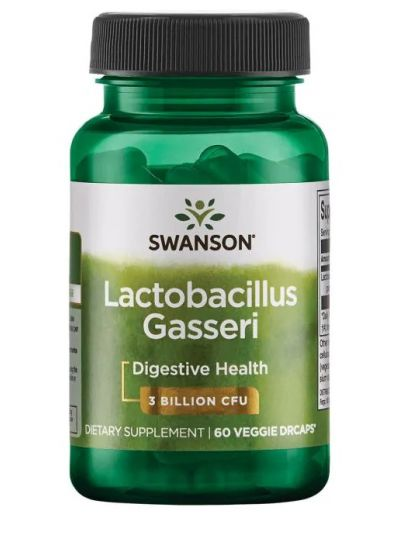 SWANSON PROBIOTICS-LACTOBACILLUS GASSERI 3 Milliarden KBE 60 Veggie Drcaps