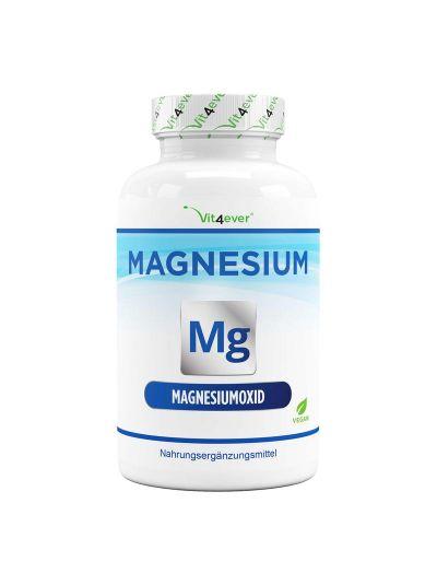 Vit4ever Magnesium 665 mg pro Kapsel - 365 Kapseln