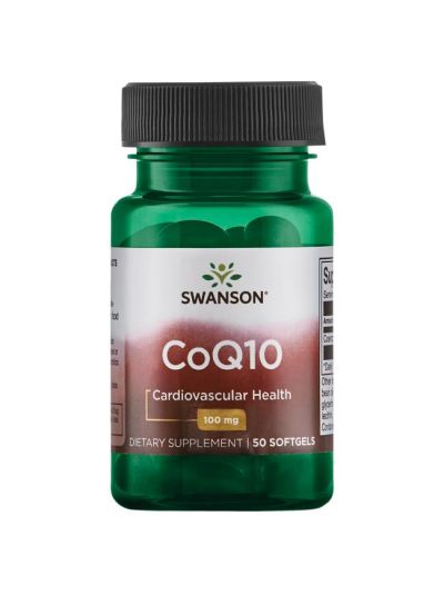 SWANSON CO-Q10 100 MG 50 Softgels