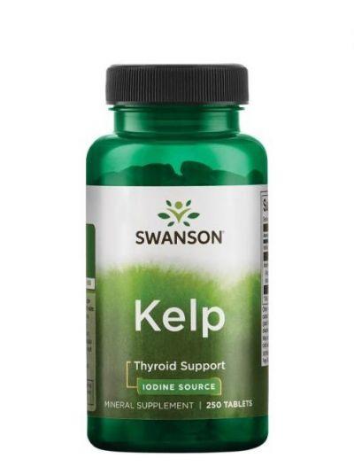 swanson Kelp 225 mcg Jod 250 Tabletten