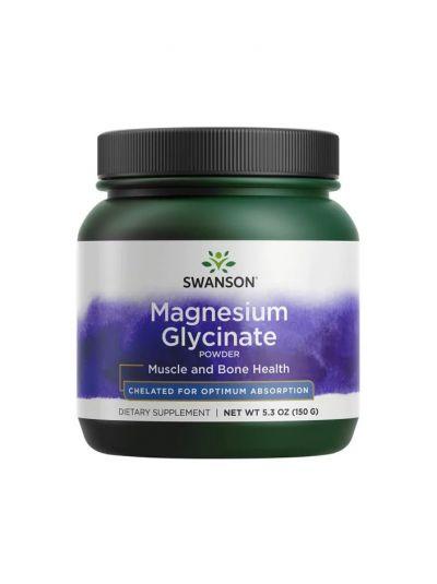 Swanson Albion Chelatiertes Magnesiumglycinat-Pulver - 150 Gramm