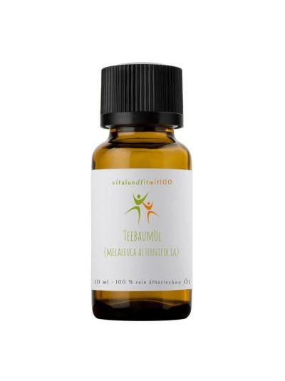 Vitalundfitmit100 Teebaumöl (melaleuca alternifolia) 10 ml