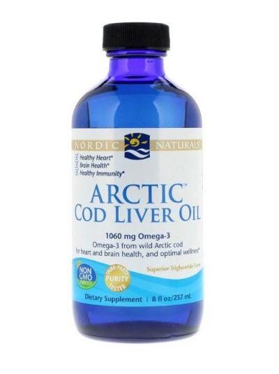 Nordic Naturals Dorsch Lebertran aus der Arktik 237 ml
