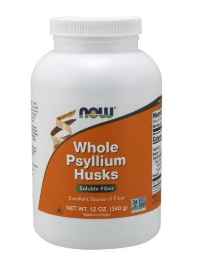 Now Foods ganze HUSK Psyllium Flohsamenschalen 340 g