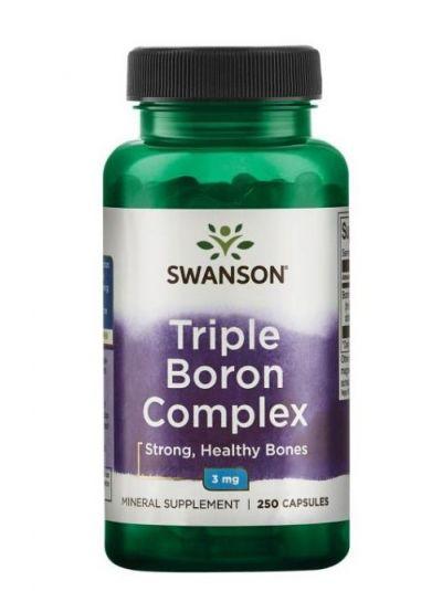 Swanson Triple-Boron-Komplex 3 mg 250 KApseln