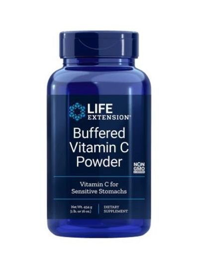Life Extension, Gepuffertes Vitamin C-Pulver 454 g