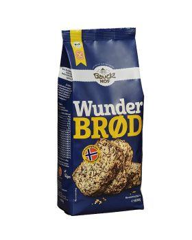 Bauckhof Bio Brotbackmischung Wunderbrot, Hefe- und glutenfrei 600g