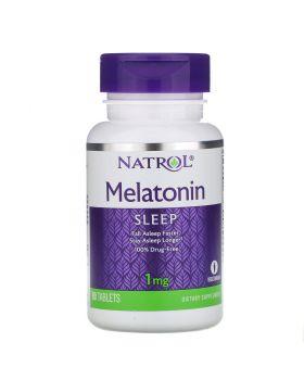 Natrol, Melatonin, 1 mg, 90 Tabletten