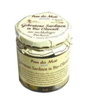 Pan do Mar Gebratene Sardinen in Olivenöl BIO 154 g