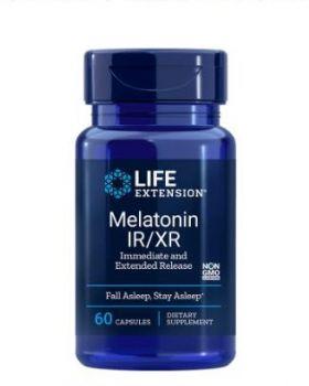 Life extension MELATONIN IR/XR, 1,5 MG 60 Kapseln
