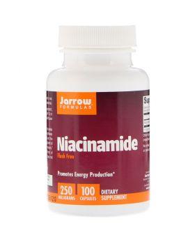 Jarrow Formulas, Niacinamid, 250 mg, 100 Kapseln