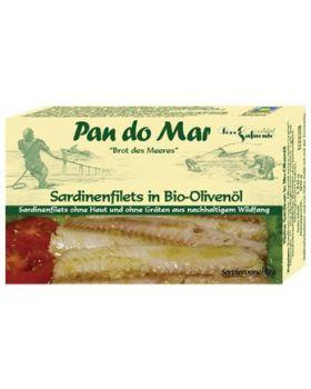Pan do Mar Sardinenfilets in BIO Olivenöl 90 g