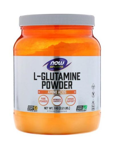 NOW FOODS L-GLUTAMIN PULVER 1000 G