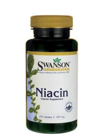 Swanson Niacin 100 mg 250 Tabletten
