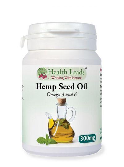 Health Leads Hanföl 300 mg x 90 Kapseln