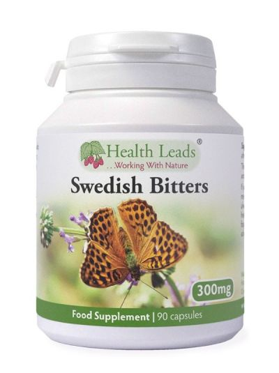 HEALTH LEADS SCHWEDISCHE BITTER 300 mg - 90 Kapseln