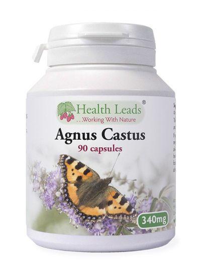 Health Leads Agnus Castus 340mg x 90 Kapseln