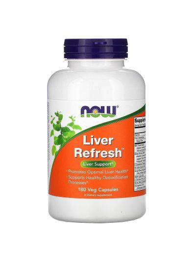 Now Foods Liver Refresh, Unterstützung der Leber, 180 pflanzliche Kapseln