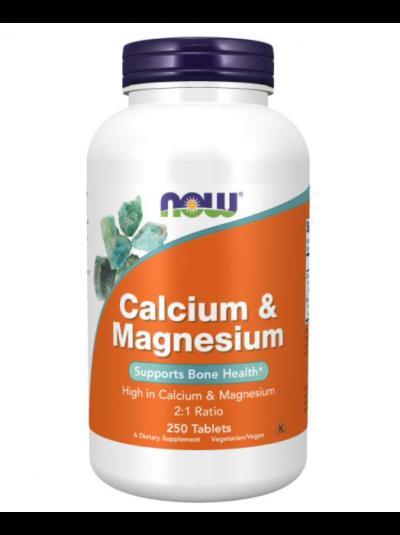 Now Foods Kalzium & Magnesium 2:1 ratio 250 Tabletten
