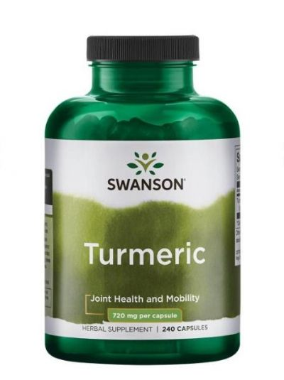Swanson Premium Kurkuma 720 mg 240 Kapseln