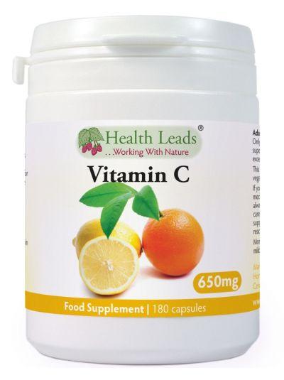 Health Leads Vitamin C 650 mg 90-180 Kapseln