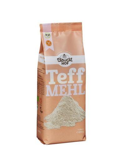 Bauckhof Bio Teff-Mehl Vollkorn, glutenfrei 400g