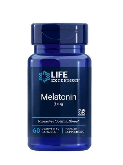 Life Extension MELATONIN 3 MG 60 Kapseln