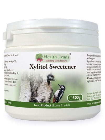 Health Leads Xylitol Sweetener Birkenzucker 500g