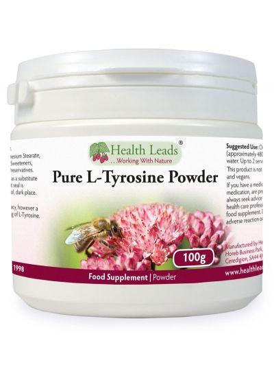 HEalth Leads 100% reines L-Tyrosin Pulver (Lebensmittelzualität) 100 g