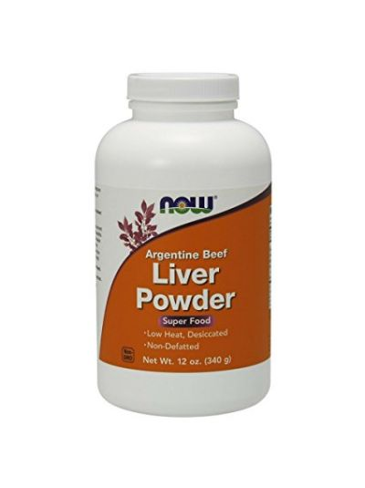 Now Foods Rinder Leber Pulver 340 Gramm