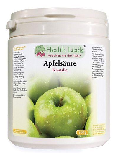 Health Leads Apfelsäure (Malic Säure) 500g