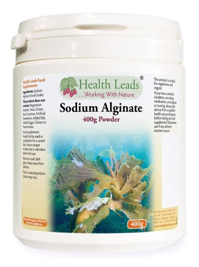 HEalth Leads Natriumalginat (Lebensmittelqualität) 400 g