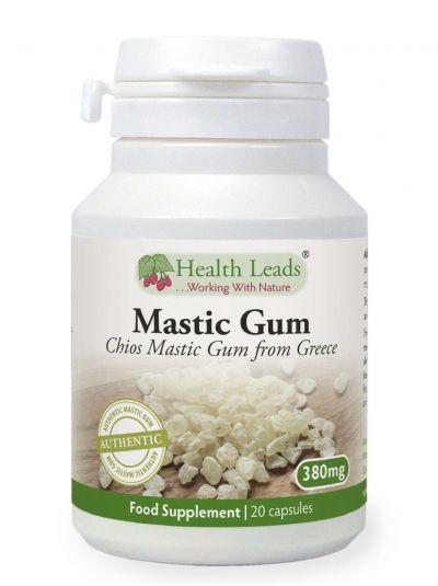 HEALTH LEADS MASTIX (MASTIC GUM) 380 MG X 20 KAPSELN