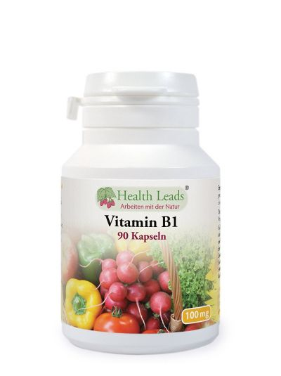 HEALTH LEADS Vitamin B1 100 Mg x 90 Kapseln