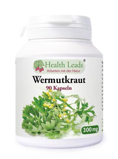 Health Leads Wermutkraut 300 mg 90 Kapseln