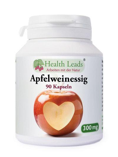 Health Leads Apfelweinessig 300mg x 90 kapseln