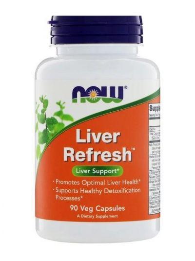 Now Foods Liver Refresh / Leber-Erfrischung 90 vegetarische Kapseln