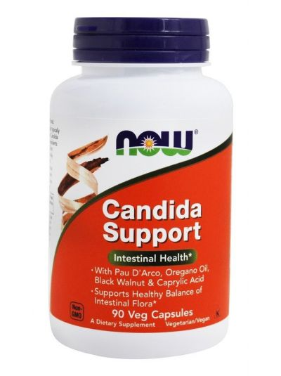 NOW FOODS CANDIDA SUPPORT 90 VEG. KAPSELN