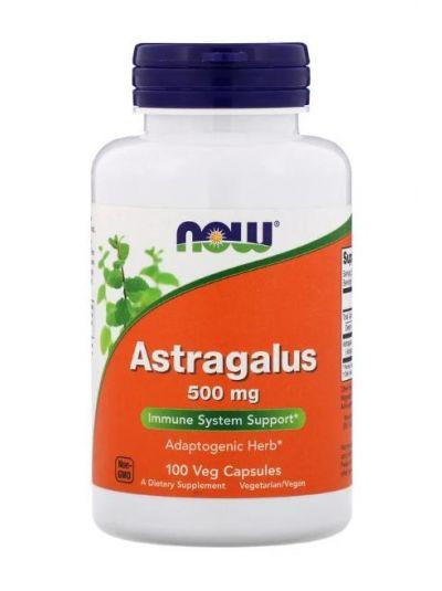 NOW FOODS ASTRAGALUS 500 MG 100 VEGETABILISCHE KAPSELN