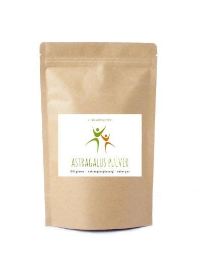 Vitalundfitmit100 Astragalus Extrakt Pulver 100g