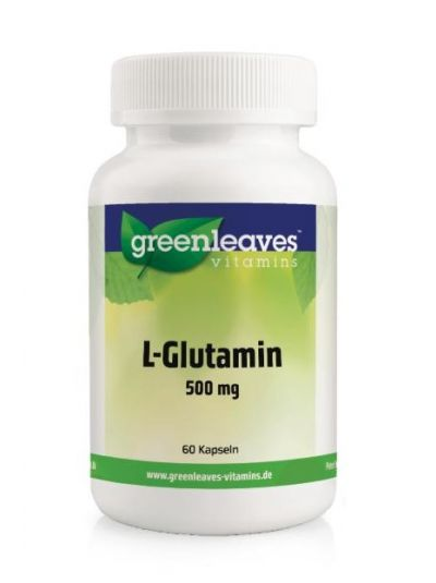 Green Leaves Vitamins L-GLUTAMIN 500 MG 60 Kapseln