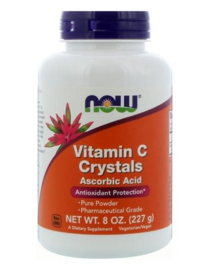 Now Foods Vitamin C Kristalle 227g